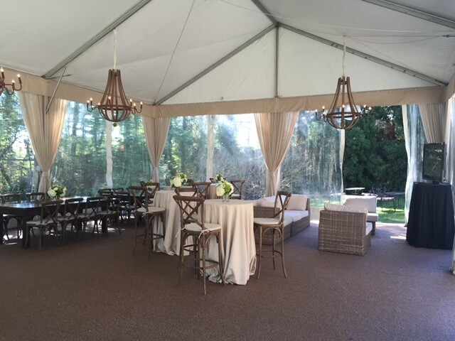 Kate Bailey Tournament event - event tents