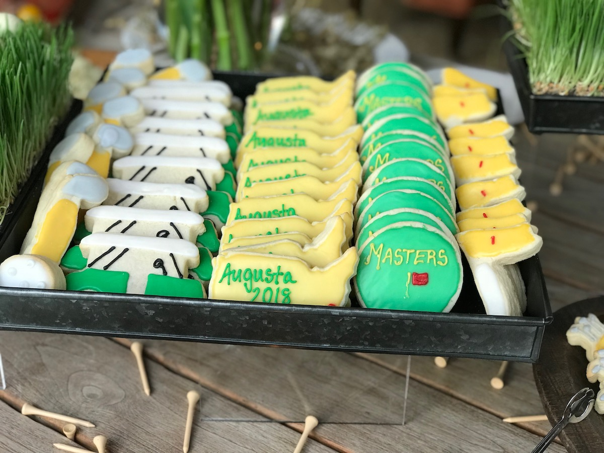 KBE Tournament Events - golf cookies