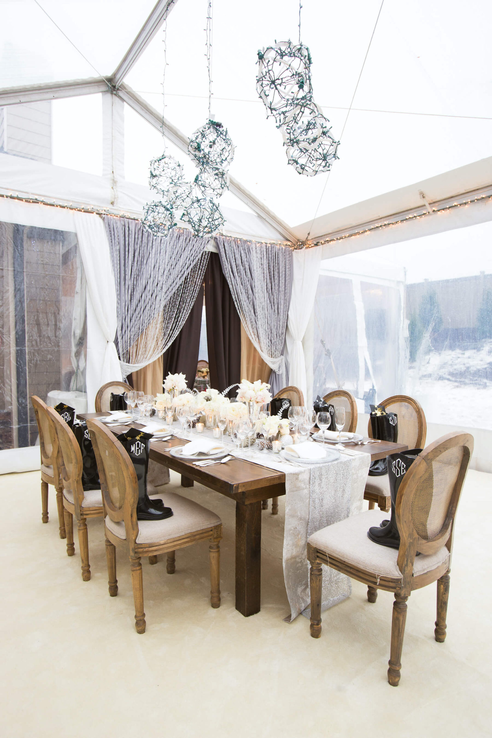 Special Events Table Setup