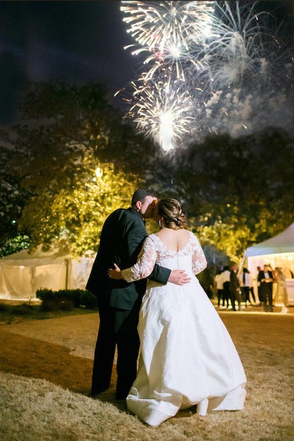 Kate and Blake fireworks