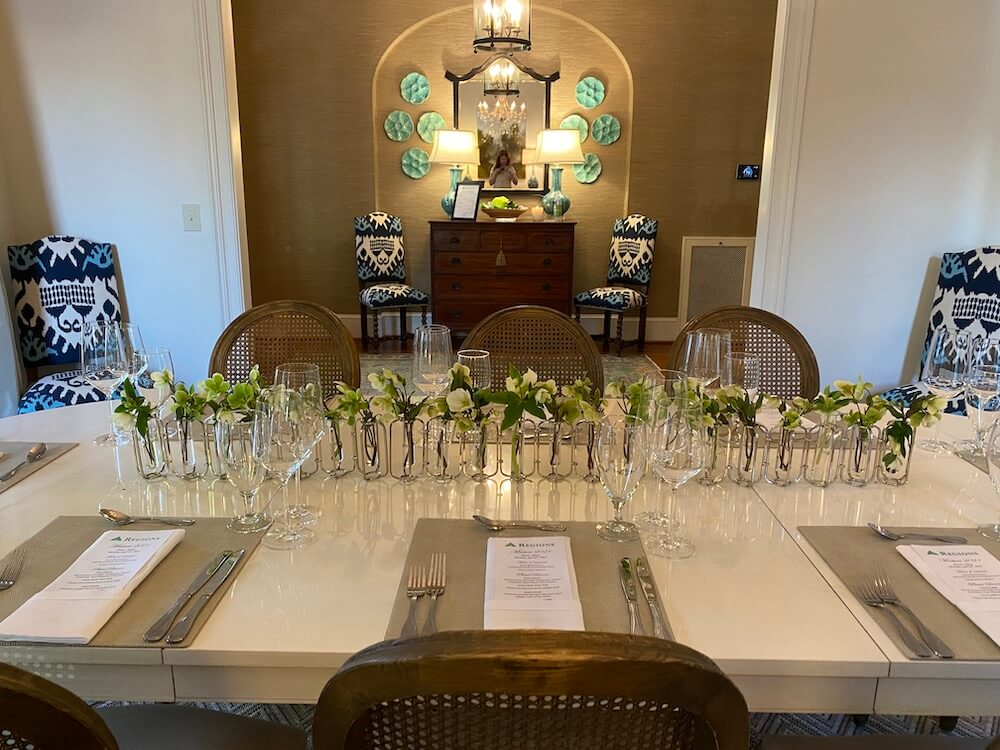 KABE - Tournament events - dining table